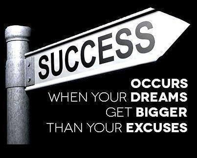 Dreams and excuses